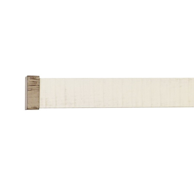Arlinea Provence 35x35mm Beech Pole with metal parts, Beige Limed